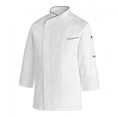 Veste de Cuisine Max Safe, boutons pression cachéss, tissu fin et léger
