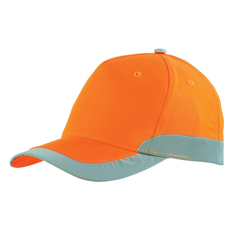 Casquette de travail orange fluo ORANGE HIVI GPTFLASH