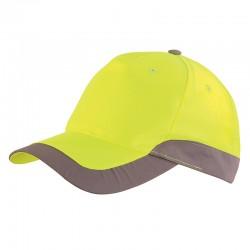 Casquette de travail jaune fluo JAUNE HIVI GPTFLASH