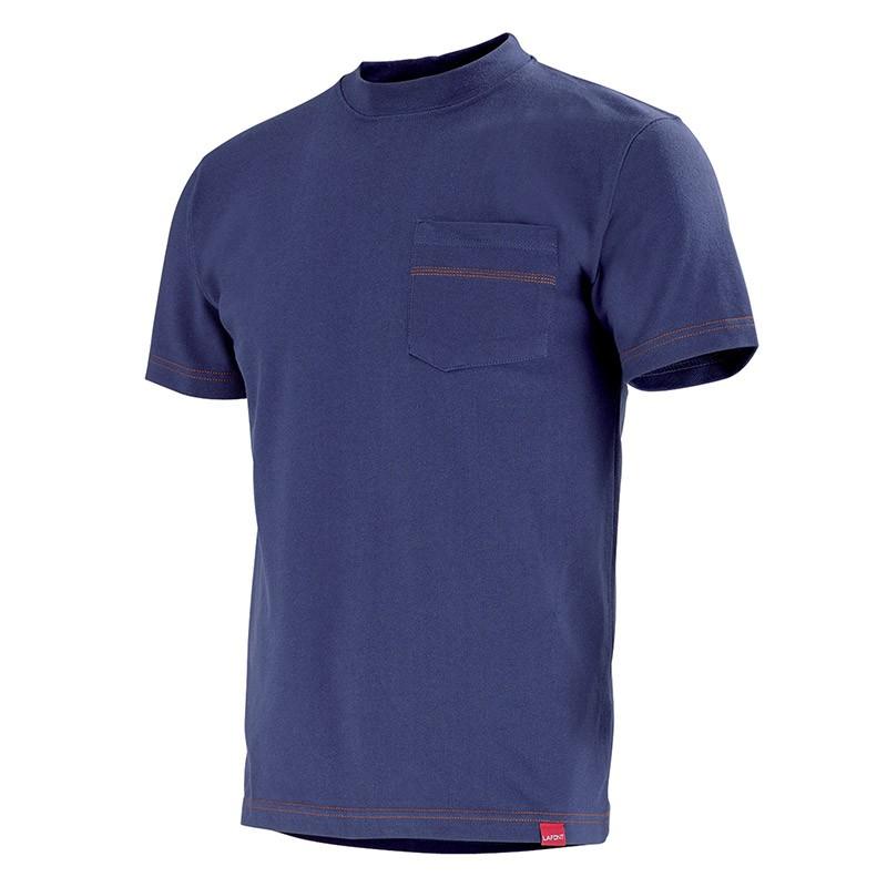 Tshirt de travail marin CXPRS Lafont pour homme bleu marine
