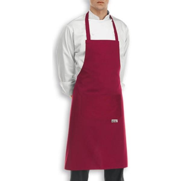 Tablier de cuisine bavette couleur ou motifs for Tablier de cuisine plastifie