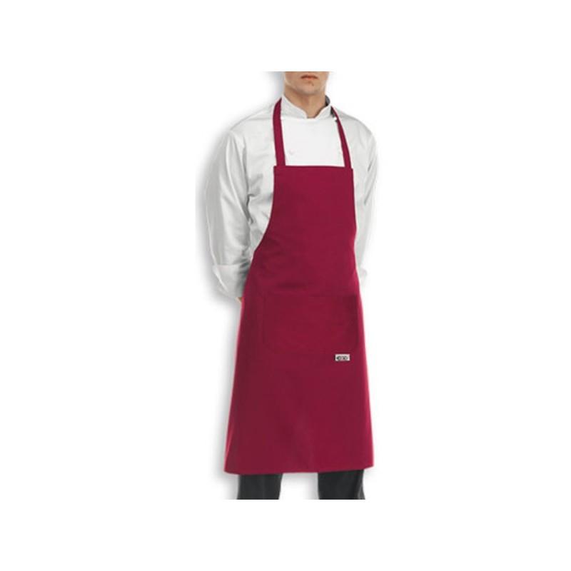 Tablier de cuisine bavette couleur ou motifs for Tabliers de cuisine personnalises