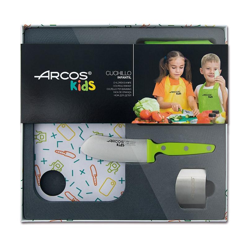 Coffret couteau enfants vert Arcos