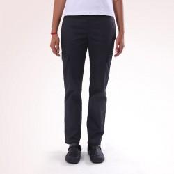 Pantalon de Cuisine Noir Multipoches