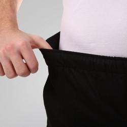 Pantalon de Cuisine Noir Grande Taille mixte homme et femme ceinture élastique