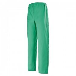 Pantalon médical élastique vert homme femme mixte pas cher promo hopital