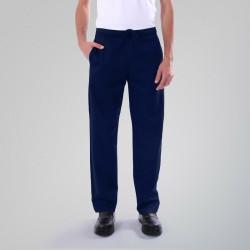 Pantalon médical bleu marine Manelli homme femme mixte pas cher promo hôpital