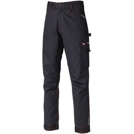 Pantalon de travail Lakemont Dickies Noir Rouge