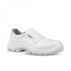 Chaussures de boulanger blanches