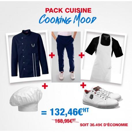 Pack de vêtement de cuisine