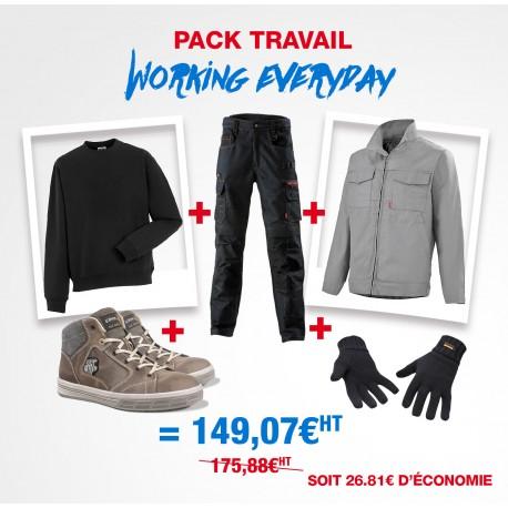 Pack de vêtements pro de travail