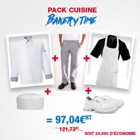 Pack de vêtements pro Pâtissier