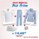 Pack de vêtements professionnels médicaux