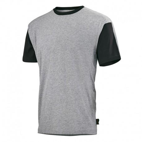 Tee shirt de travail GRIS/NOIR C190ATT - ADOLPHE LAFONT