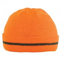 Bonnet de travail orange fluo ORANGE HIVI BFLASH - ADOLPHE LAFONT