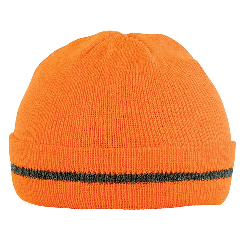 Bonnet de travail orange fluo ORANGE HIVI BFLASH - ADOLPHE LAFONT