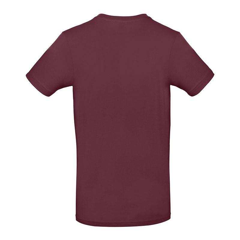 Tee-shirt de Travail Coton Homme Bordeaux - TOPTEX Certifié Oeko-Tex 100