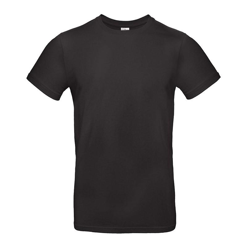 Tee-shirt de Travail Coton Homme Noir - TOPTEX 100% Coton