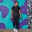 Tee-shirt de Travail Coton Homme Noir - TOPTEX  Lavable à 40°C en machine