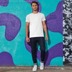 Tee-shirt de Travail Coton Homme Blanc - TOPTEX Lavable à 40°C en machine