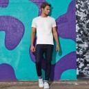 Tee-shirt de Travail Coton Homme Blanc - TOPTEX Manches courtes