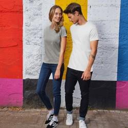 Tee-shirt de Travail Coton Homme Blanc - TOPTEX Tailles : S au 4XL