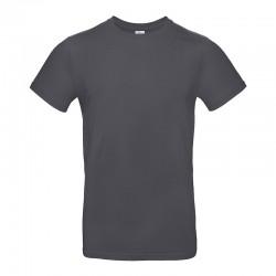 Tee-shirt de Travail Coton Homme Gris Foncé - TOPTEX 100% Coton