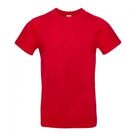 Tee-shirt de Travail Coton Homme Rouge - TOPTEX 100% Coton
