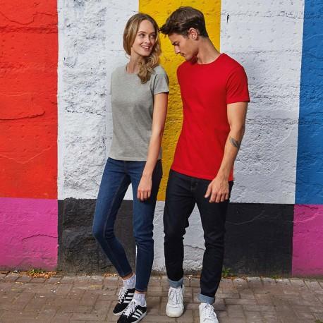 Tee-shirt de Travail Coton Homme Rouge - TOPTEX Manches courtes