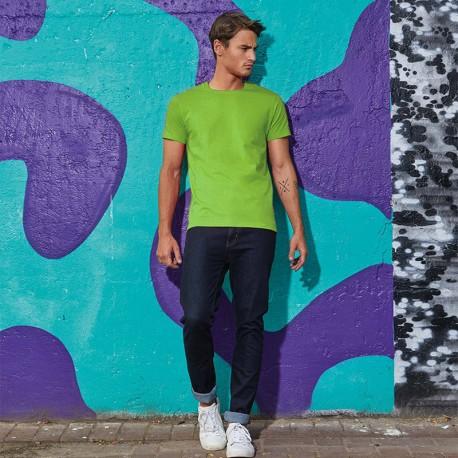 Tee-shirt de Travail Coton Homme Vert - TOPTEX Manches courtes