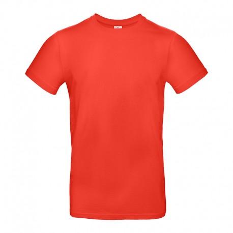 Tee-shirt de Travail Coton Homme Orange Sunset - TOPTEX 100% Coton