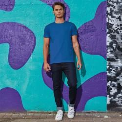 Tee-shirt de Travail Coton Homme Bleu Royal - TOPTEX Manches courtes