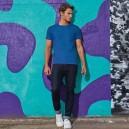 Tee-shirt de Travail Coton Homme Bleu Royal - TOPTEX Lavable à 40°C en machine