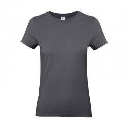 Tee-shirt de Travail Coton Femme Gris Foncé - TOPTEX 100% coton