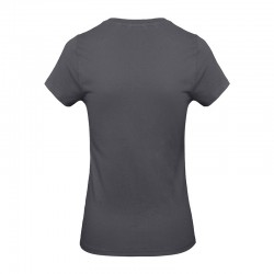 Tee-shirt de Travail Coton Femme Gris Foncé - TOPTEX Certifié Oeko-Tex 100