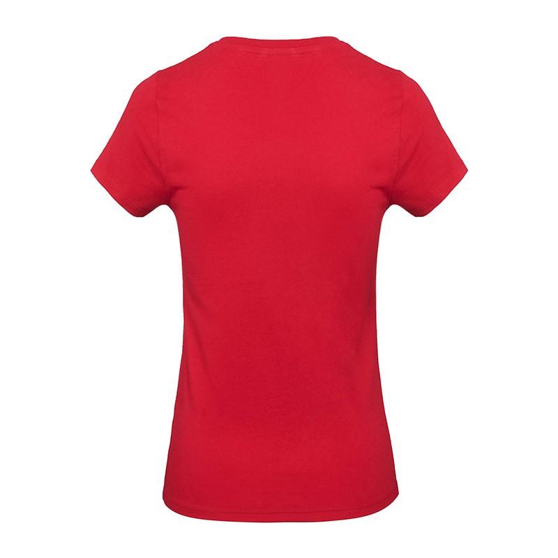Tee-shirt de Travail Coton Femme Rouge - TOPTEX Certifié Oeko-Tex 100