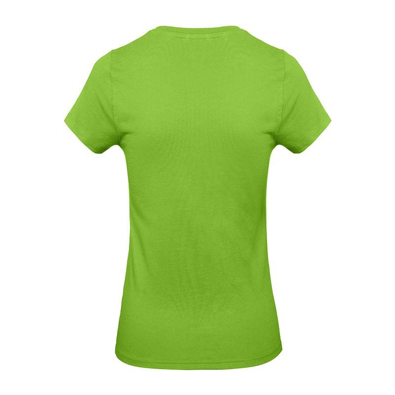 Tee-shirt de Travail Coton Femme Vert - TOPTEX Certifié Oeko-Tex 100