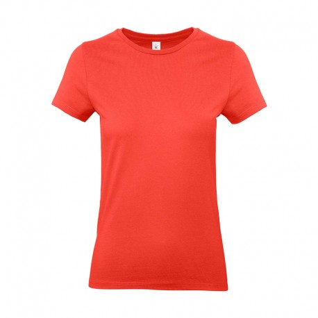 Tee-shirt de Travail Coton Femme Orange Sunset - TOPTEX 100% coton