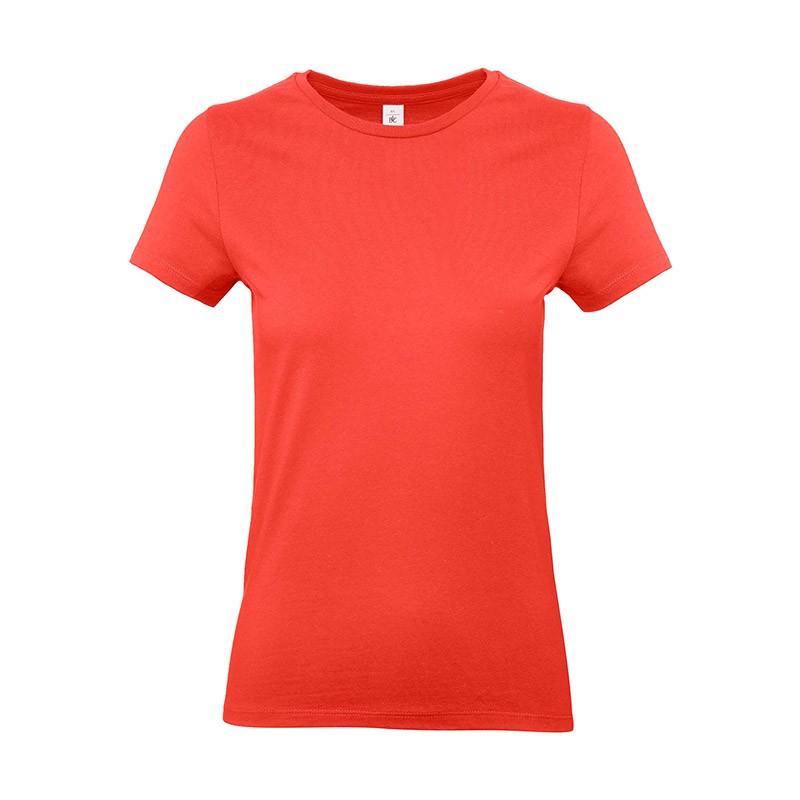 Tee-shirt de Travail Coton Femme Orange Sunset - TOPTEX 100% coton