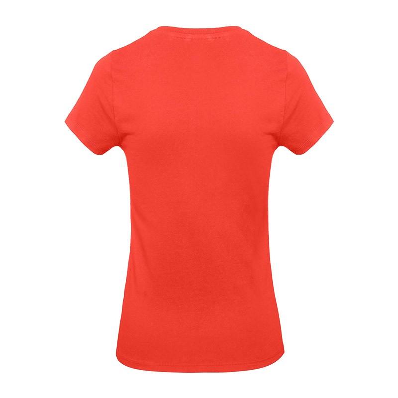 Tee-shirt de Travail Coton Femme Orange Sunset - TOPTEX Certifié Oeko-Tex 100