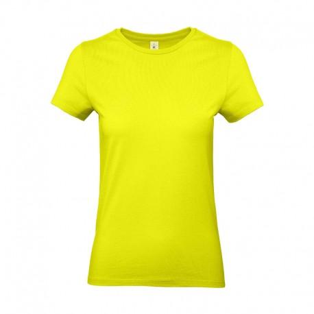Tee-shirt de Travail Coton Femme Vert Lime - TOPTEX 100% coton