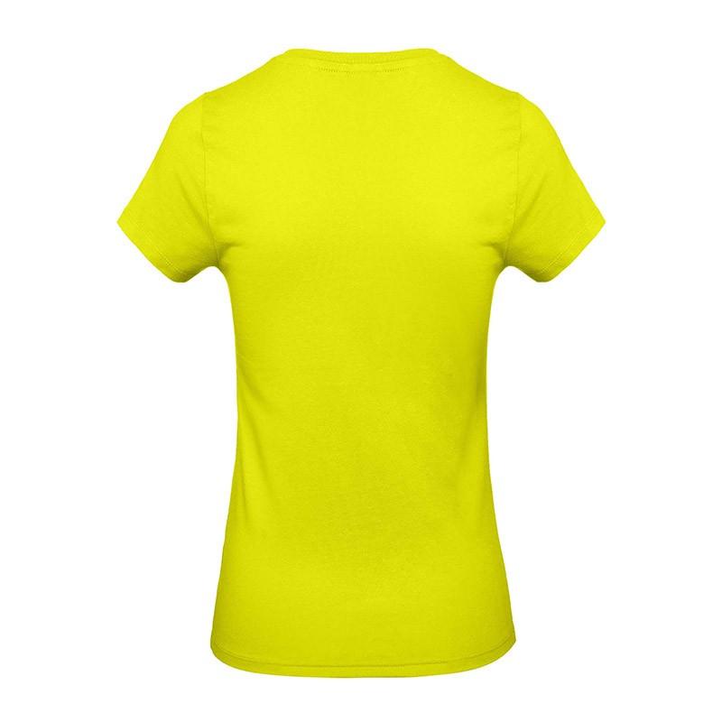 Tee-shirt de Travail Coton Femme Vert Lime - Certifié Oeko-Tex 100