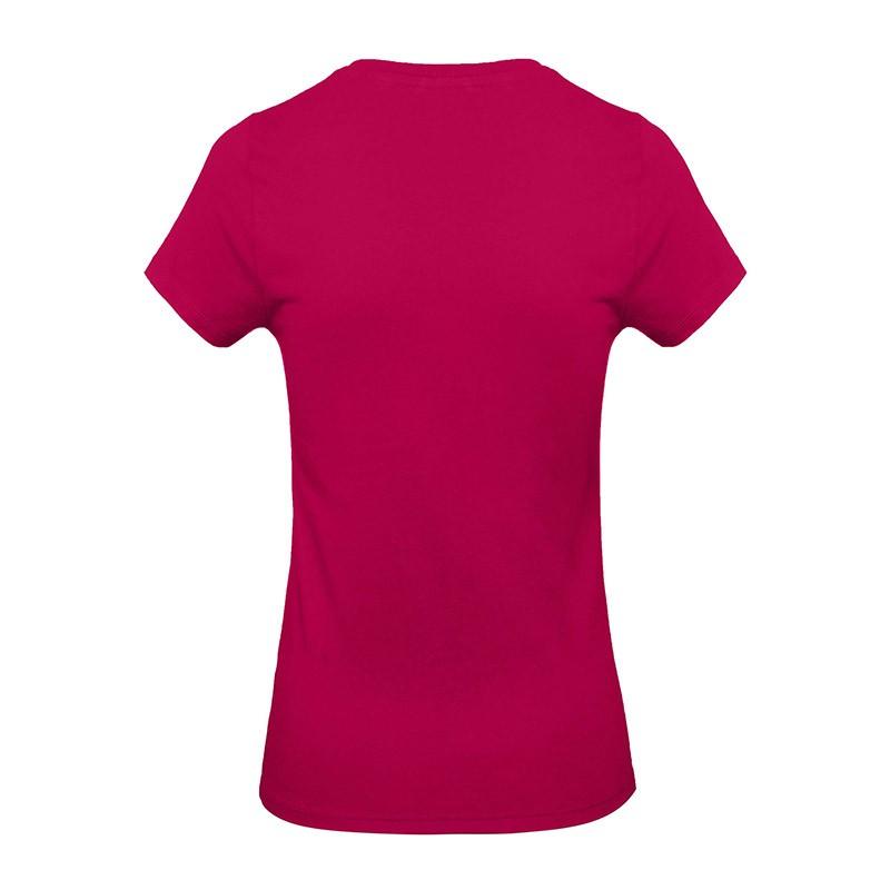 Tee-shirt de Travail Coton Femme Rose Fushia - TOPTEX Certifié Oeko-Tex 100
