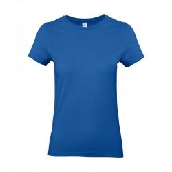 Tee-shirt de Travail Coton Femme Bleu Royal - TOPTEX 100% Coton