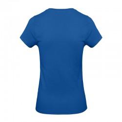 Tee-shirt de Travail Coton Femme Bleu Royal - TOPTEX Certifié Oeko-Tex 100