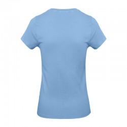 Tee-shirt de Travail Coton Femme Bleu Ciel - TOPTEX Certifié Oeko-Tex 100