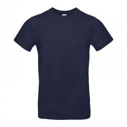 Tee-shirt de Travail Coton Homme Bleu Marine - TOPTEX 100% Coton