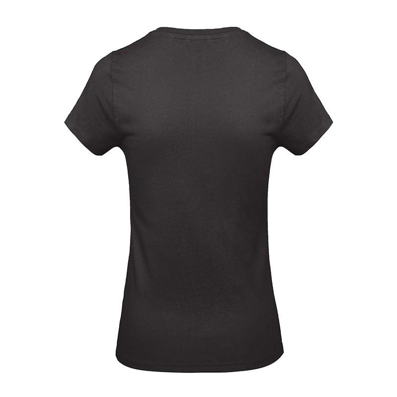 Tee-shirt de Travail Coton Femme Noir - TOPTEX Certifié Oeko-Tex 100