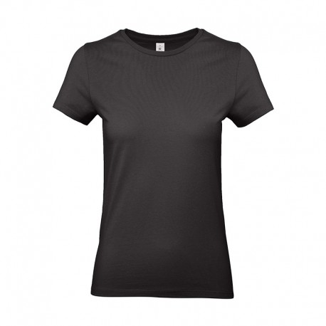 Tee-shirt de Travail Coton Femme Noir - TOPTEX 100% Coton