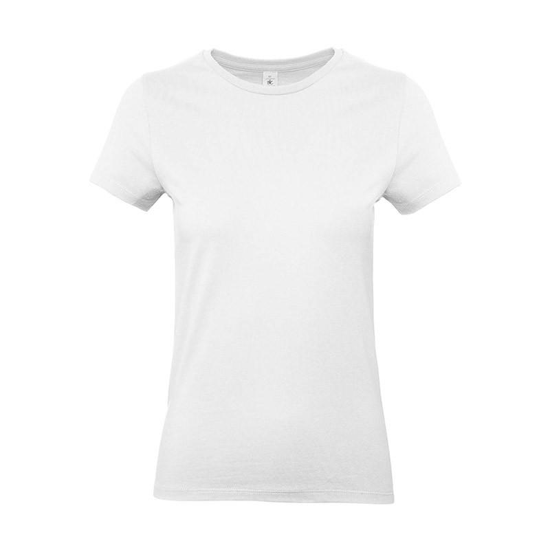 Tee-shirt de Travail Coton Femme Blanc - TOPTEX 100% coton